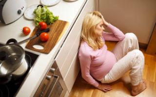 Симптомы, причины и лечение предродовой депрессии у беременных